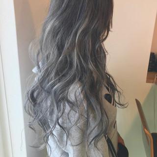 冬 ロング 透明感 秋 ヘアスタイルや髪型の写真・画像