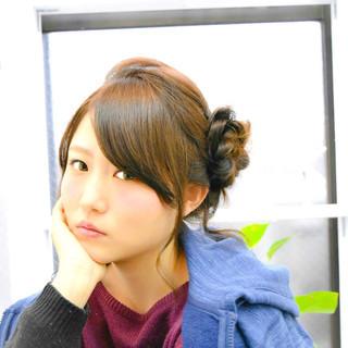 大人かわいい かわいい ショート セミロング ヘアスタイルや髪型の写真・画像