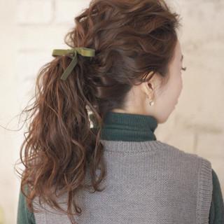 ショート ヘアアレンジ ストレート 暗髪 ヘアスタイルや髪型の写真・画像