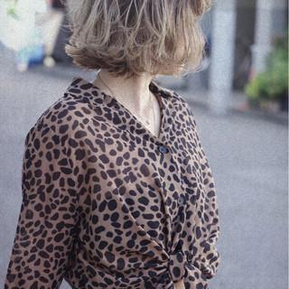 モード ゆるふわ 女子力 ボブ ヘアスタイルや髪型の写真・画像