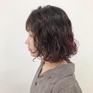 ゆるふわ 外国人風 アンニュイ ボブ ヘアスタイルや髪型の写真・画像