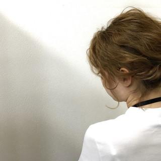 簡単ヘアアレンジ ショート フェミニン 大人かわいい ヘアスタイルや髪型の写真・画像