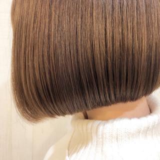 切りっぱなしボブ ショートヘア ベリーショート ショート ヘアスタイルや髪型の写真・画像