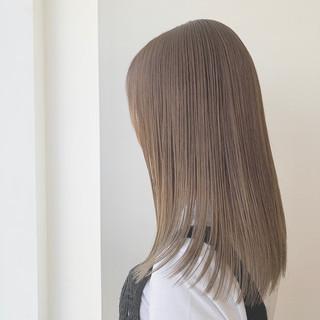 モテ髪 ナチュラル 透明感カラー ヘアカラー ヘアスタイルや髪型の写真・画像