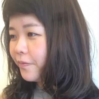 デート 女子会 セミロング モード ヘアスタイルや髪型の写真・画像