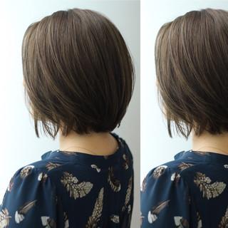 マット ショート 外国人風 ボブ ヘアスタイルや髪型の写真・画像