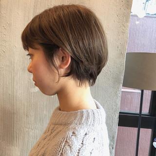 オフィス 透明感 ナチュラル デート ヘアスタイルや髪型の写真・画像