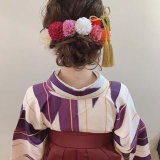 結婚式 ナチュラル 卒業式 ヘアアレンジ ヘアスタイルや髪型の写真・画像