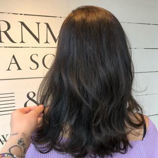 ゆるふわ ミディアム ナチュラル ヘアアレンジ ヘアスタイルや髪型の写真・画像