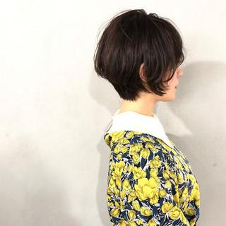 ショートヘア 大人ショート ショート ナチュラル ヘアスタイルや髪型の写真・画像