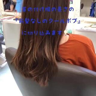 グレージュ アッシュベージュ ボブ 透明感カラー ヘアスタイルや髪型の写真・画像