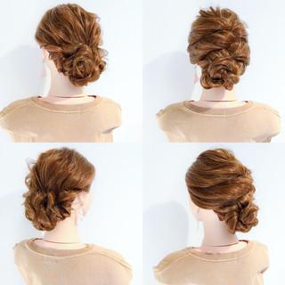 涼しげ 上品 エレガント 夏 ヘアスタイルや髪型の写真・画像