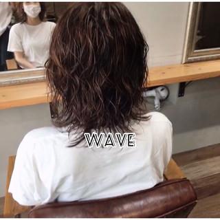 ボブ ウルフカット 毛先パーマ ボブ ヘアスタイルや髪型の写真・画像