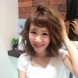 キュート ゆるふわ フェミニン 大人かわいい ヘアスタイルや髪型の写真・画像