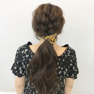 簡単ヘアアレンジ 結婚式 女子会 ヘアアレンジ ヘアスタイルや髪型の写真・画像