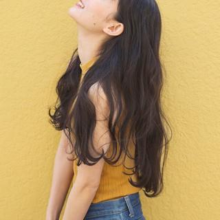 ロング アッシュ グレージュ ミディアム ヘアスタイルや髪型の写真・画像