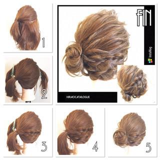 ショート ヘアアレンジ 簡単ヘアアレンジ ゆるふわ ヘアスタイルや髪型の写真・画像 ヘアスタイルや髪型の写真・画像
