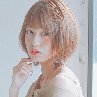 デート 大人かわいい ショート 小顔ショート ヘアスタイルや髪型の写真・画像