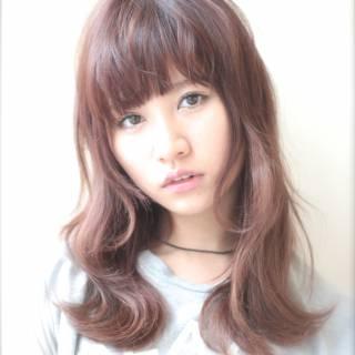 モテ髪 卵型 オン眉 大人かわいい ヘアスタイルや髪型の写真・画像