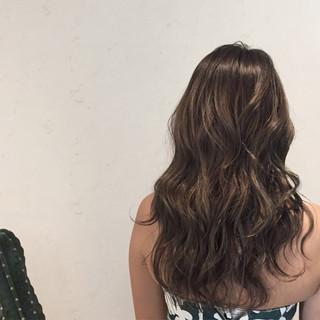 ロング 涼しげ 夏 ヘアアレンジ ヘアスタイルや髪型の写真・画像