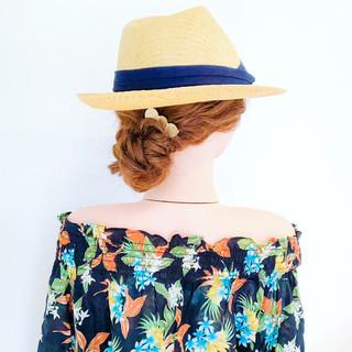 ロング 大人かわいい 涼しげ ヘアアレンジ ヘアスタイルや髪型の写真・画像