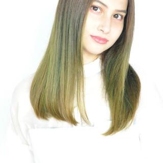 ハロウィン ストリート 外国人風カラー セクシー ヘアスタイルや髪型の写真・画像
