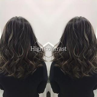 外国人風カラー バレイヤージュ グラデーションカラー 3Dハイライト ヘアスタイルや髪型の写真・画像 | 【Peace 花堂】 hiro / hybrid salon peace by holistic&organic