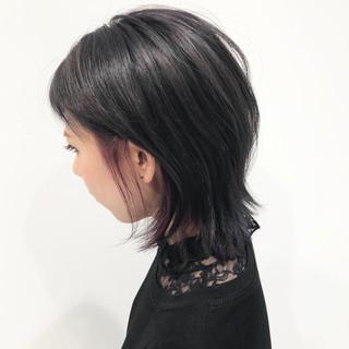ブリーチ 暗髪 ショート 原宿系 ヘアスタイルや髪型の写真・画像