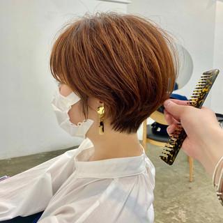 ショート 大人ショート アンニュイ ショートヘア ヘアスタイルや髪型の写真・画像