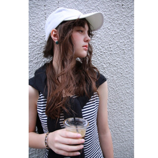 簡単ヘアアレンジ ブラウン ロング ヘアアレンジ ヘアスタイルや髪型の写真・画像