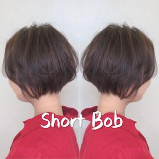 小顔ショート デート ショート ハンサムショート ヘアスタイルや髪型の写真・画像