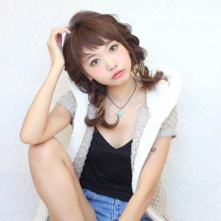 簡単ヘアアレンジ ヘアアクセ ヘアアレンジ ストリート ヘアスタイルや髪型の写真・画像