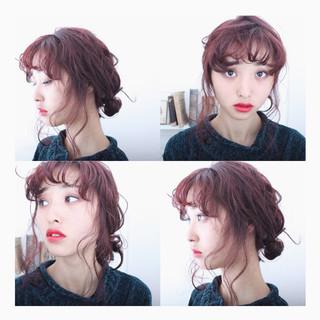 ヘアアレンジ ゆるふわ 簡単ヘアアレンジ 大人女子 ヘアスタイルや髪型の写真・画像