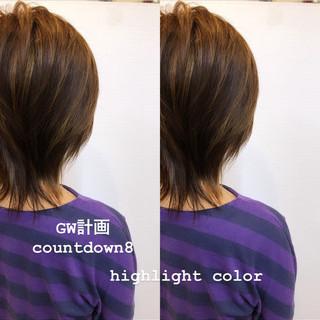 ストリート ハイライト ブリーチカラー 大人ハイライト ヘアスタイルや髪型の写真・画像 ヘアスタイルや髪型の写真・画像