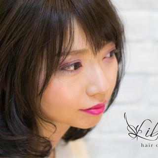 大人かわいい 上品 愛され 春 ヘアスタイルや髪型の写真・画像 ヘアスタイルや髪型の写真・画像