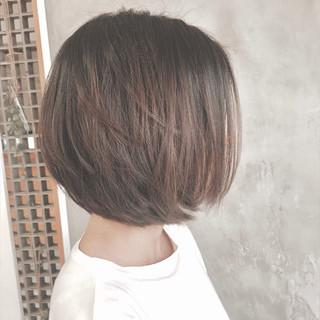 簡単 ナチュラル ボブ 似合わせ ヘアスタイルや髪型の写真・画像 ヘアスタイルや髪型の写真・画像