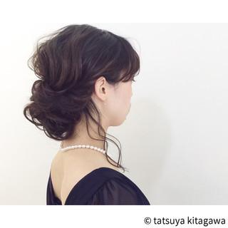 二次会 上品 エレガント 外国人風 ヘアスタイルや髪型の写真・画像