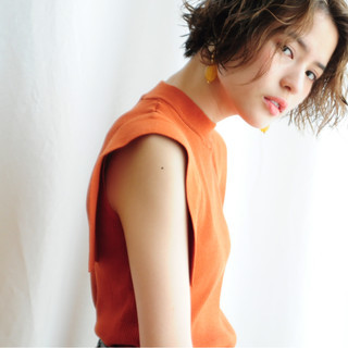 ウェーブ リラックス ストリート 女子会 ヘアスタイルや髪型の写真・画像