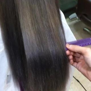 外国人風カラー ロング モテ髪 フェミニン ヘアスタイルや髪型の写真・画像