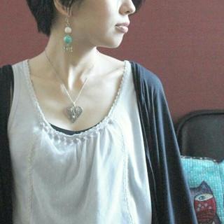 こなれ感 ショート 黒髪 上品 ヘアスタイルや髪型の写真・画像 ヘアスタイルや髪型の写真・画像