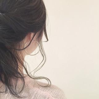 簡単ヘアアレンジ ショート 外国人風 卵型 ヘアスタイルや髪型の写真・画像