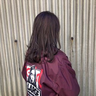 沖口 柚香さんのヘアスナップ