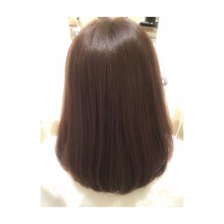 ワンカール パーマ ストリート ストレート ヘアスタイルや髪型の写真・画像