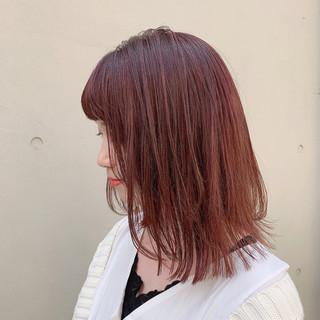ハイトーン ミディアム 透明感カラー 外国人風カラー ヘアスタイルや髪型の写真・画像
