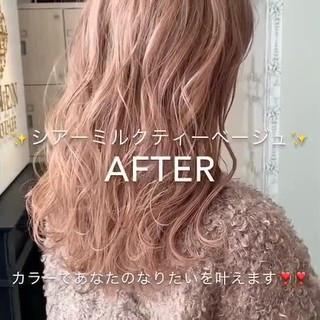 ハイトーン ヘアカラー ハイライト デザインカラー ヘアスタイルや髪型の写真・画像