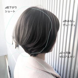 前髪 縮毛矯正 ナチュラル 髪質改善 ヘアスタイルや髪型の写真・画像