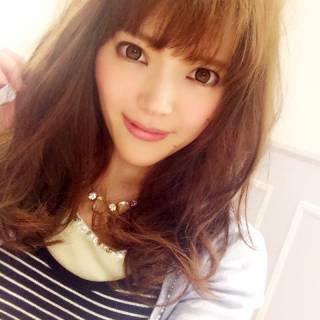 セミロング 渋谷系 フェミニン 愛され ヘアスタイルや髪型の写真・画像