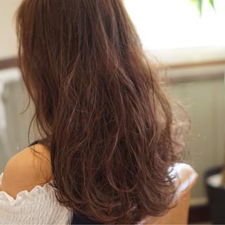 透明感 セミロング アッシュ ナチュラル ヘアスタイルや髪型の写真・画像
