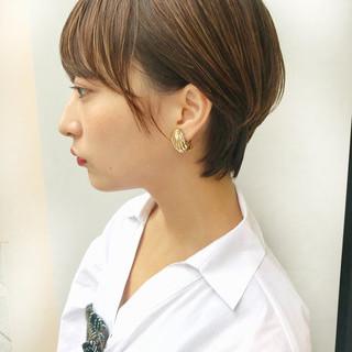 信澤貴一【ショート×ボブ】美容師さんのヘアスナップ