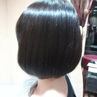 トレンド 縮毛矯正 艶髪 エレガント ヘアスタイルや髪型の写真・画像